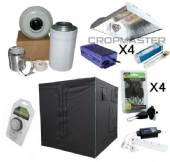 315w CDM 2.4m x 2.4m HEAVY DUTY Premium Grow Tent Kits